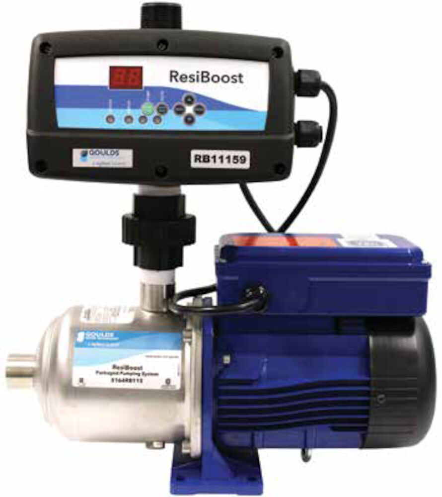 13120RB230 ResiBoost Complete Packaged Variable Frequency System 3/4HP 1/60/230V