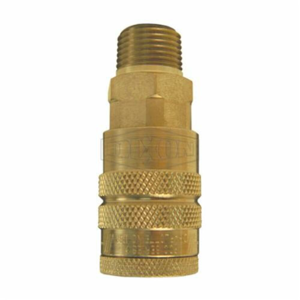 Dixon®  Air Chief Industrial Quick Connect Coupling, Male NPTF, Brass