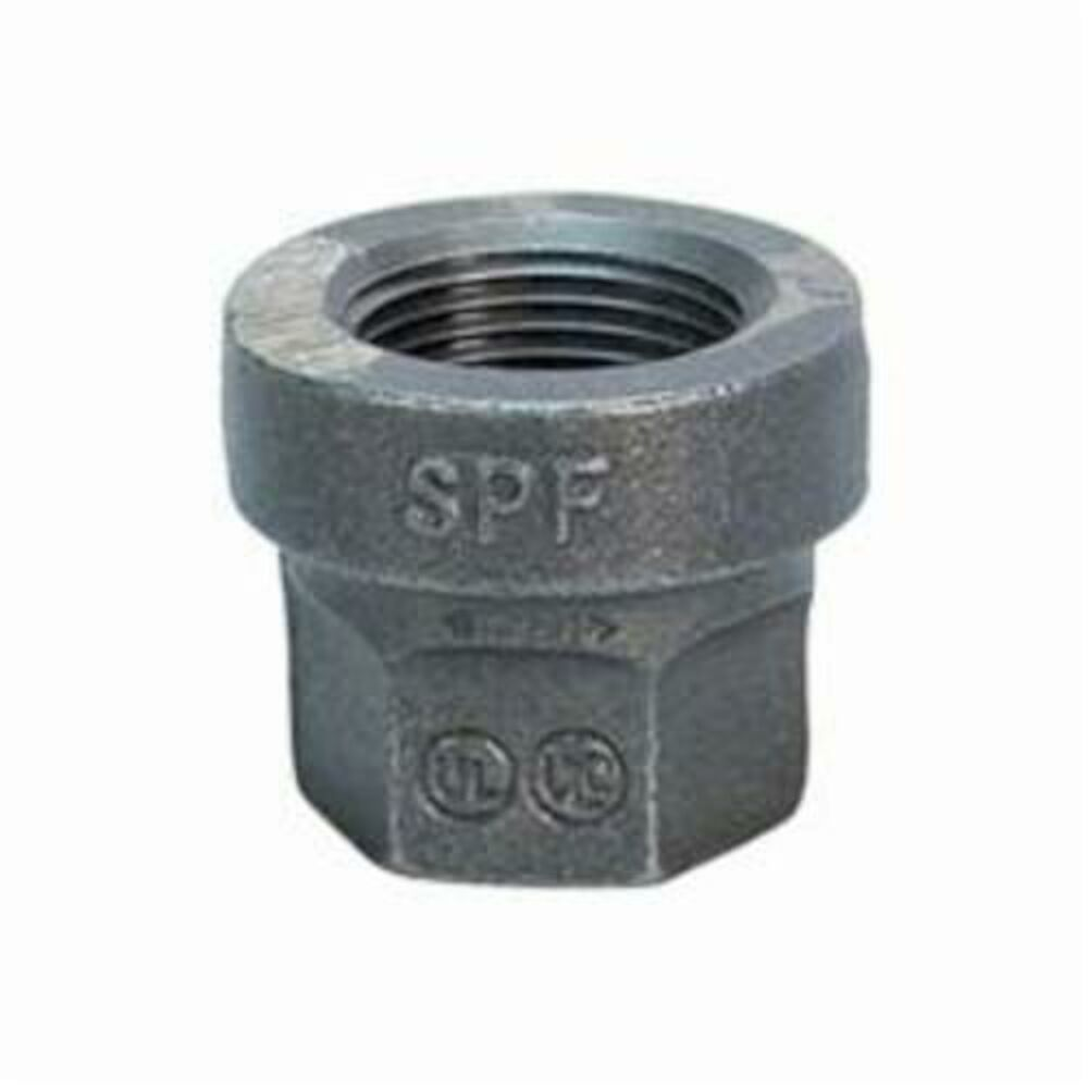 1-1/2X1-1/4Black Maleable Reducer Coupling