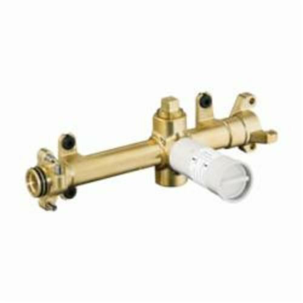 AXOR 10941181 Starck Rough-In Valve, 5-3/8 in Lx10-3/4 in H, For Use With Tub Spout, 3/4 in NPT Inlet Connection, Brass/Plastic, Import