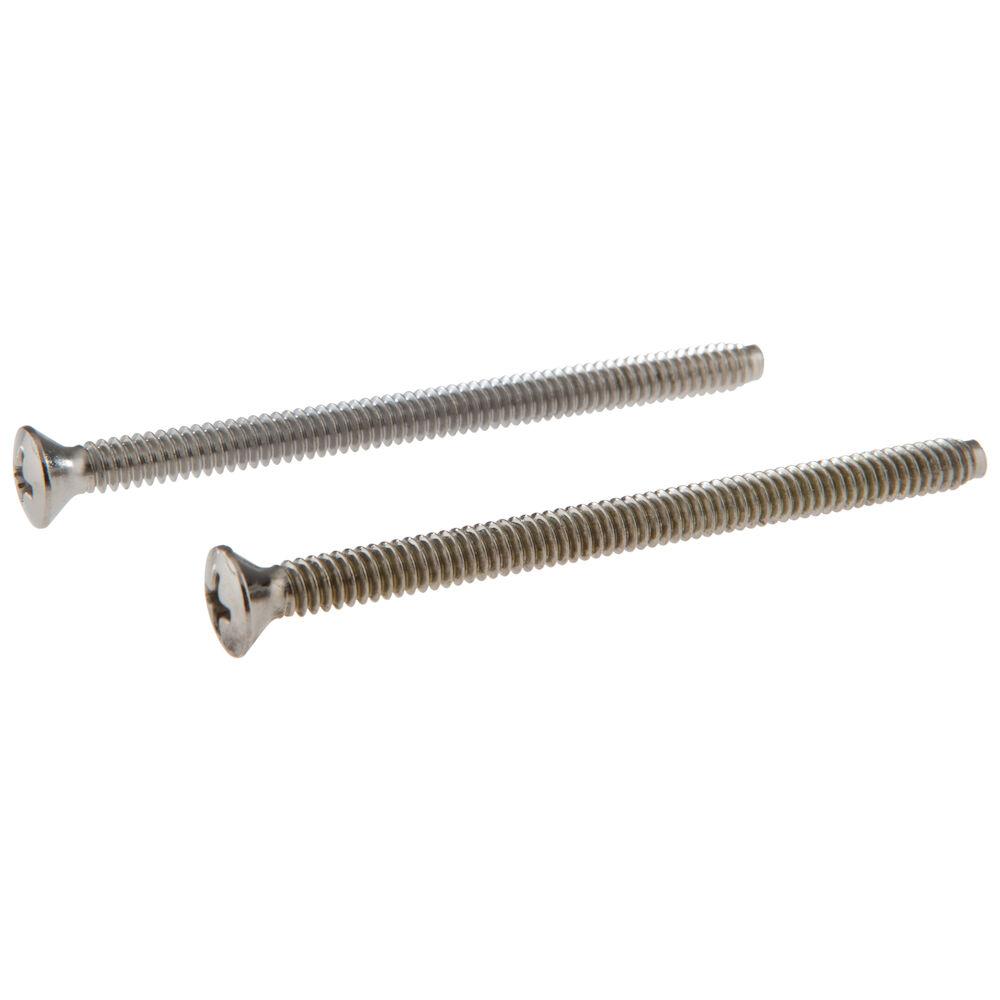Brizo® RP196BB Escutcheon Trim Screw, Steel, Domestic