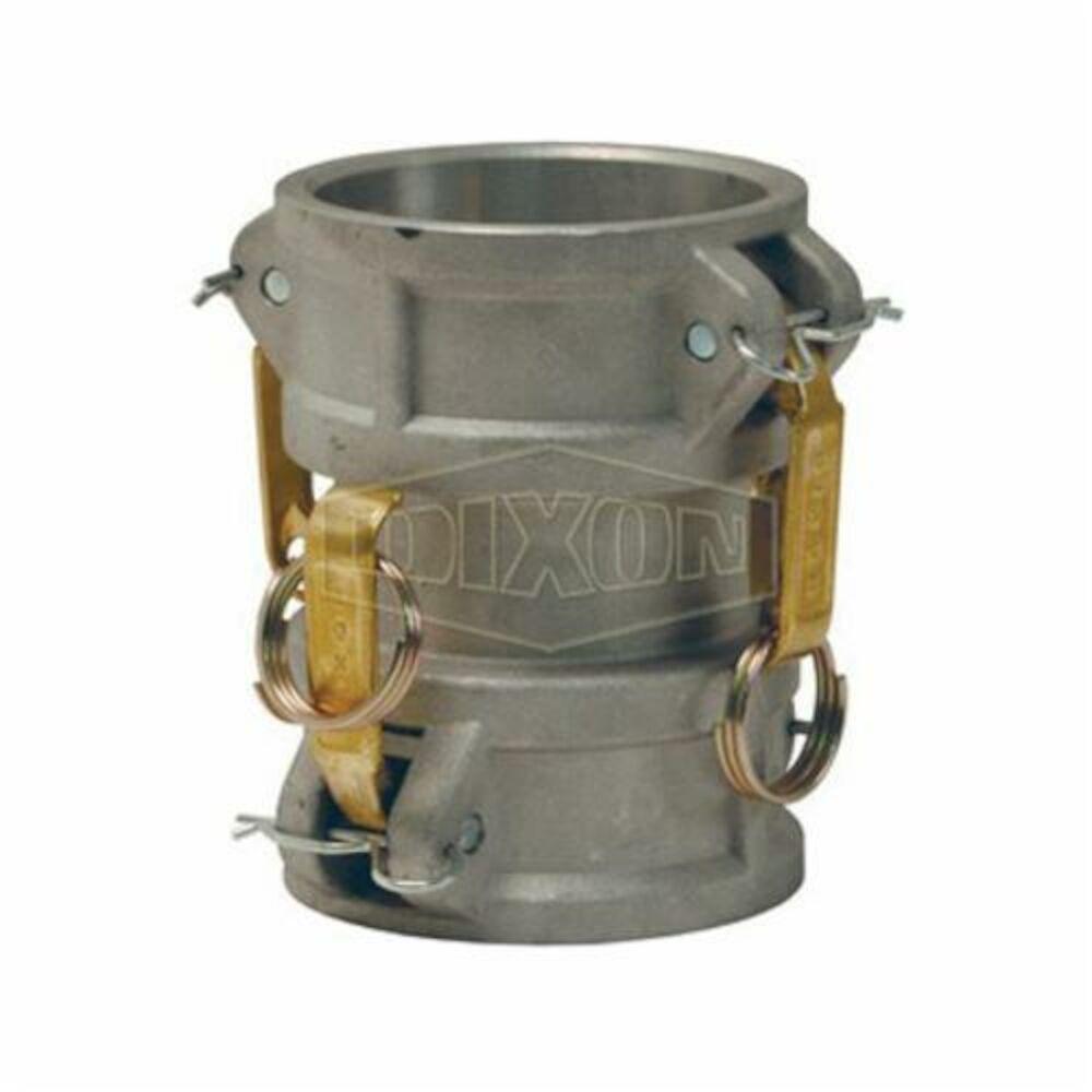 Dixon® 200-DD-AL Cam and Groove Spool Coupler, 2 in, Coupler, Aluminum