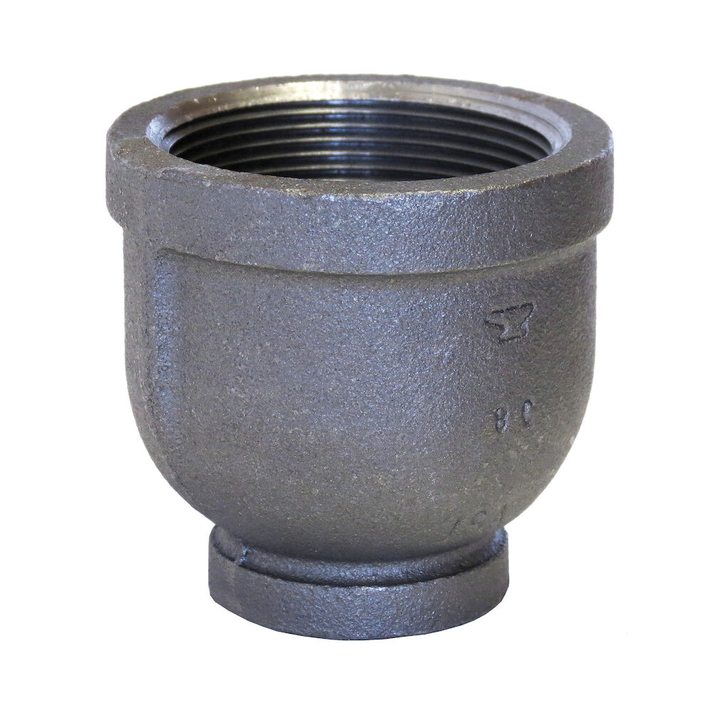1-1/2X1 Black Maleable Reducer Coupling