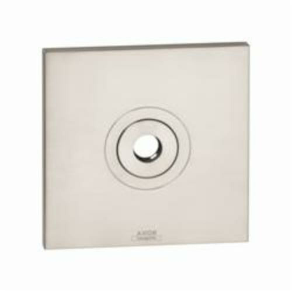 AXOR 27419820 Citterio Wall Plate, For Use With 27422xx1 or 27413xx1 Model Raindance Showerarm, Metal, Brushed Nickel
