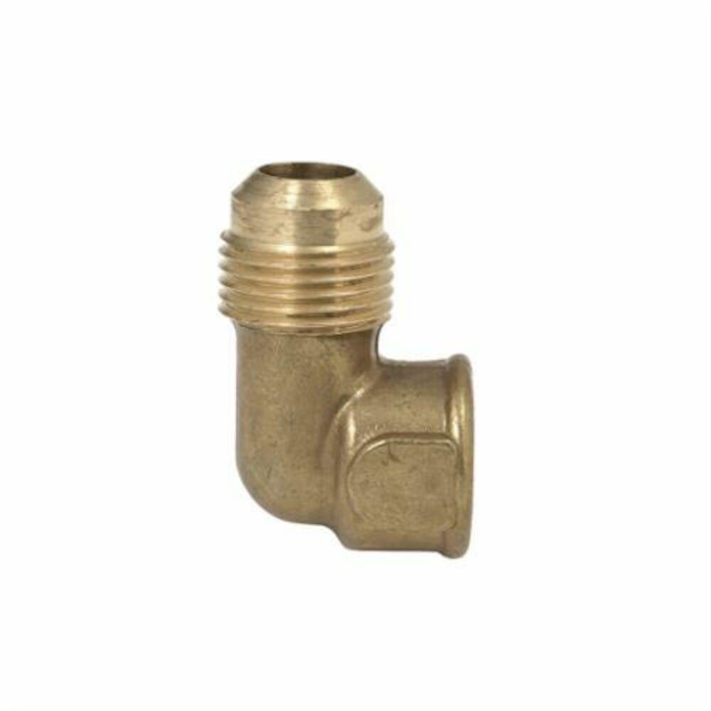 BrassCraft® 150 Series Flare Female Elbow, OD Tube x FNPT, Brass