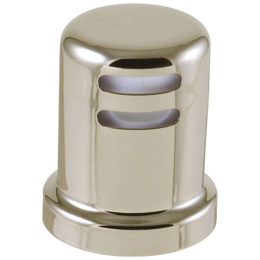 Brizo® 69060-PN Kitchen Faucet Air Gap, 1-7/8 in Dia Mounting Hole, 1/2 in THK Deck, Polyethylene, Import