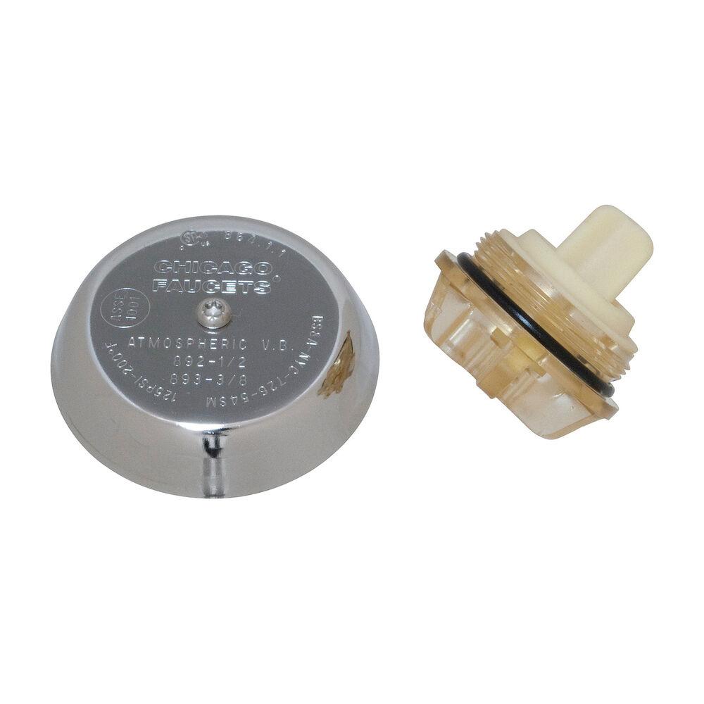 Chicago Faucet® 892-402KJKABNF Vacuum Breaker Assembly Kit, Plastic/Zinc Body, Domestic