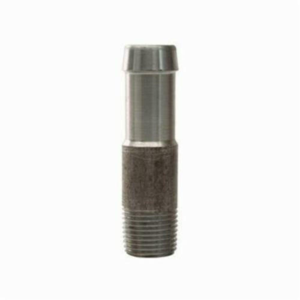 Dixon® KRN641 King™ Round Nipple, 1/2x3/4 in, NPTxHose, Steel, Unplated, Domestic