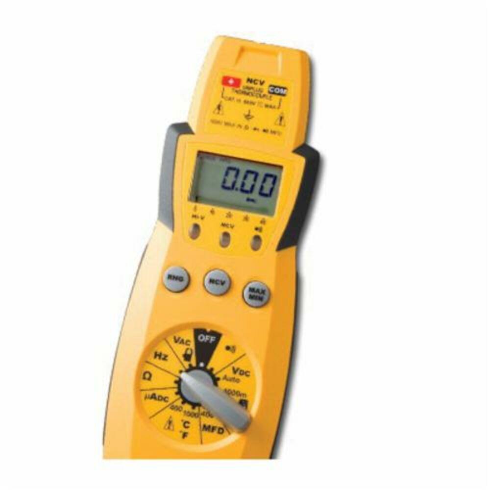 Fieldpiece HS35 Digital Multimeter, 600 VAC/VDC, 400 A, 40 mOhm, LCD Display