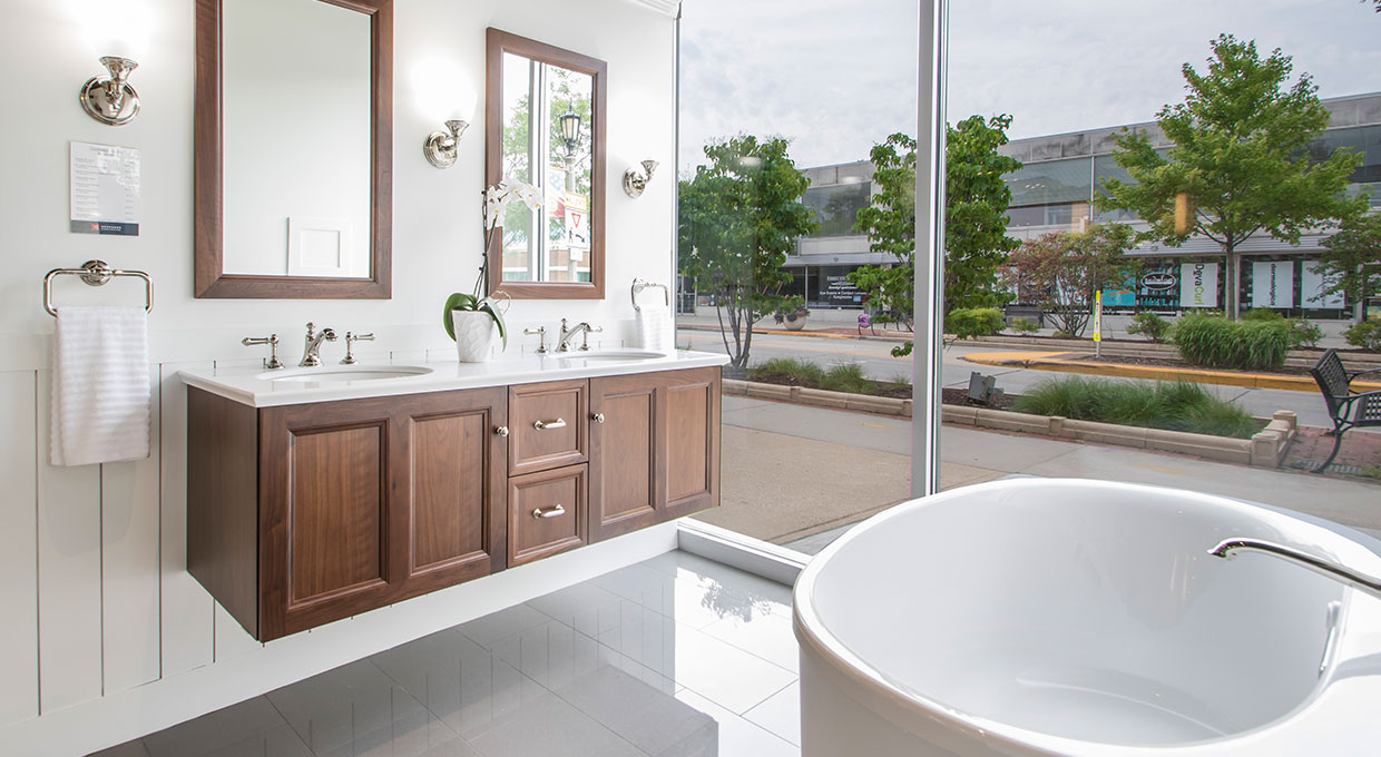 Gerhard's Kitchen & Bath Store Whitefish Bay showroom