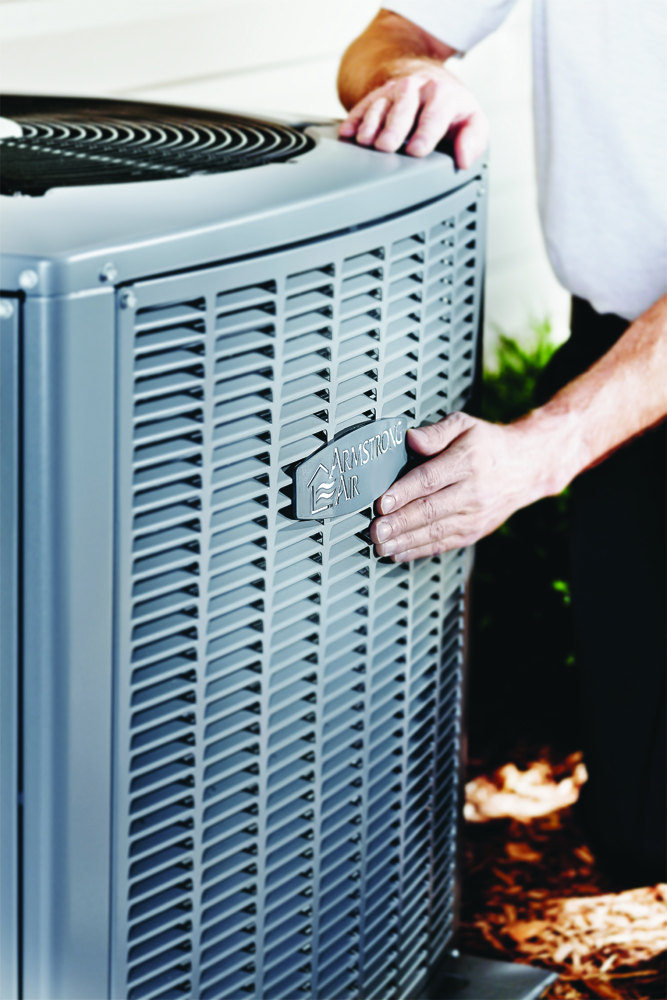 Armstrong Air ac contractor vertical photo