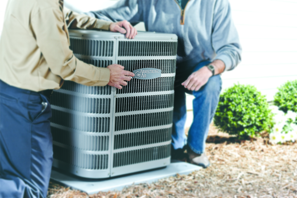 Armstrong Air ac contractor horizontal photo