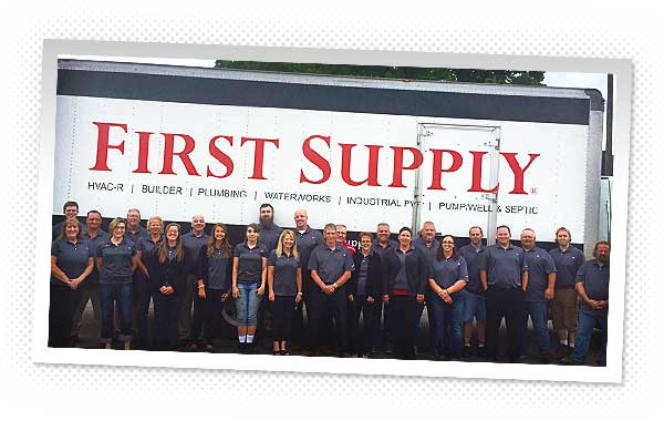 The First Supply team
