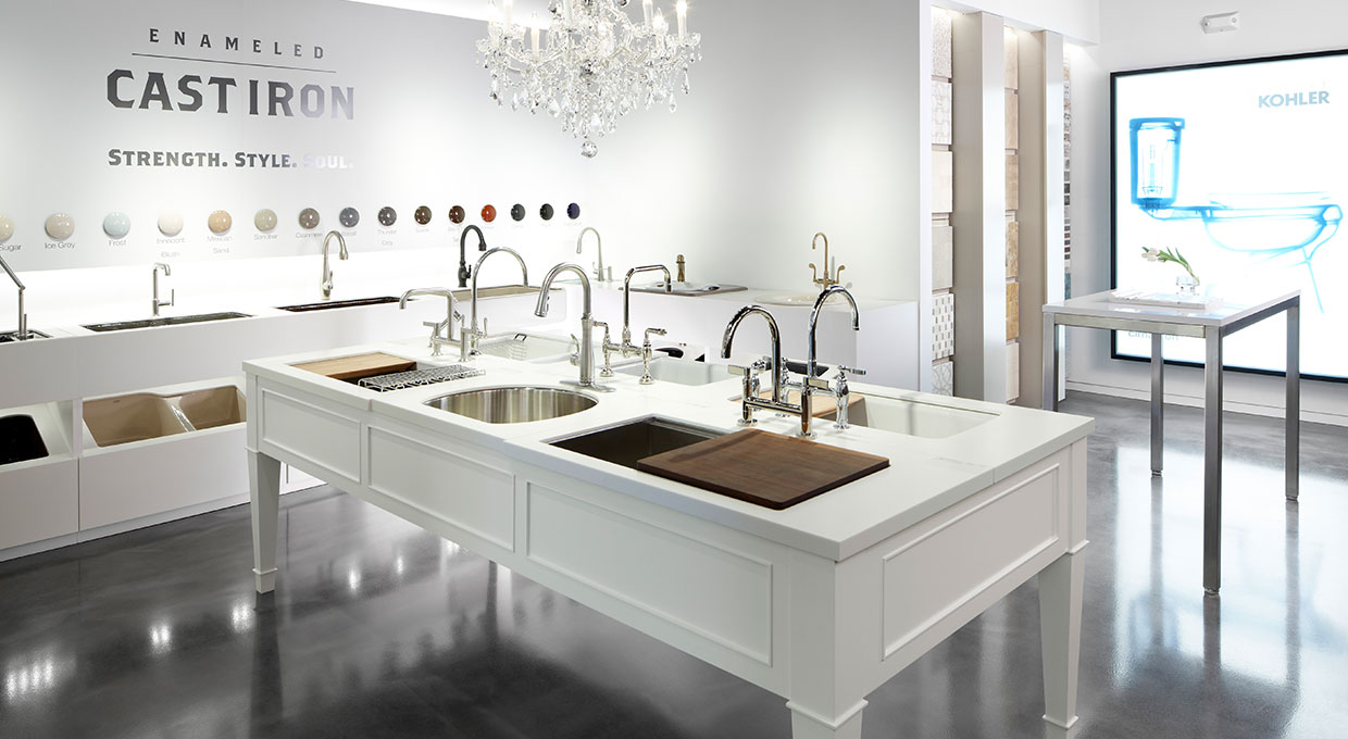 KOHLER Signature Store Edina showroom