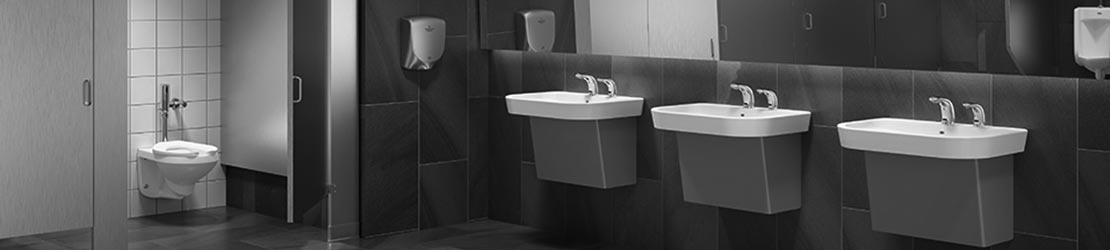 Retrofit commercial bathrooms with touchless technology