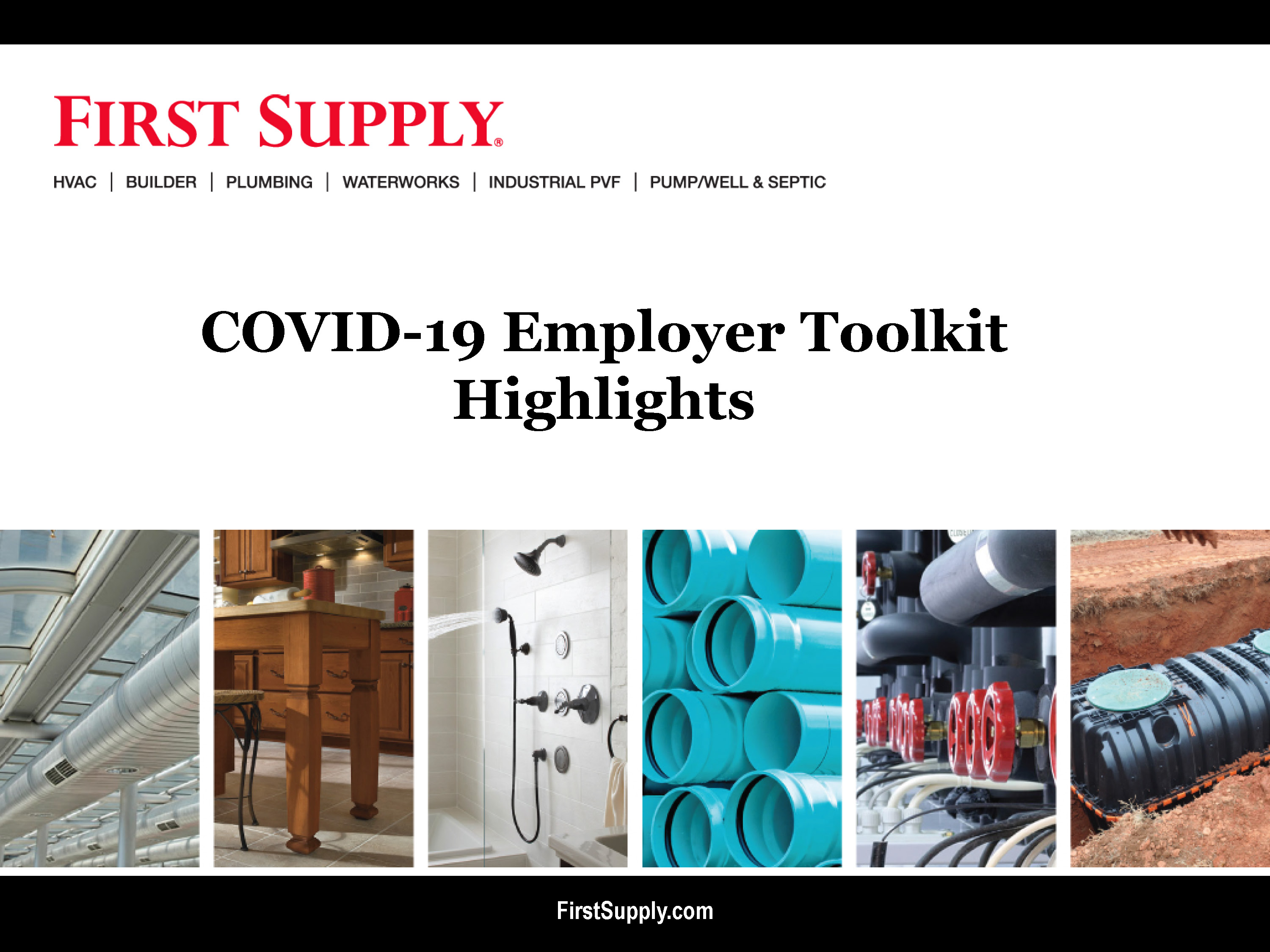 COVID-19 Employer Toolkit Highlights