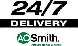 24/7 Delivery - A.O. Smith