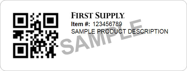 First inStock Label