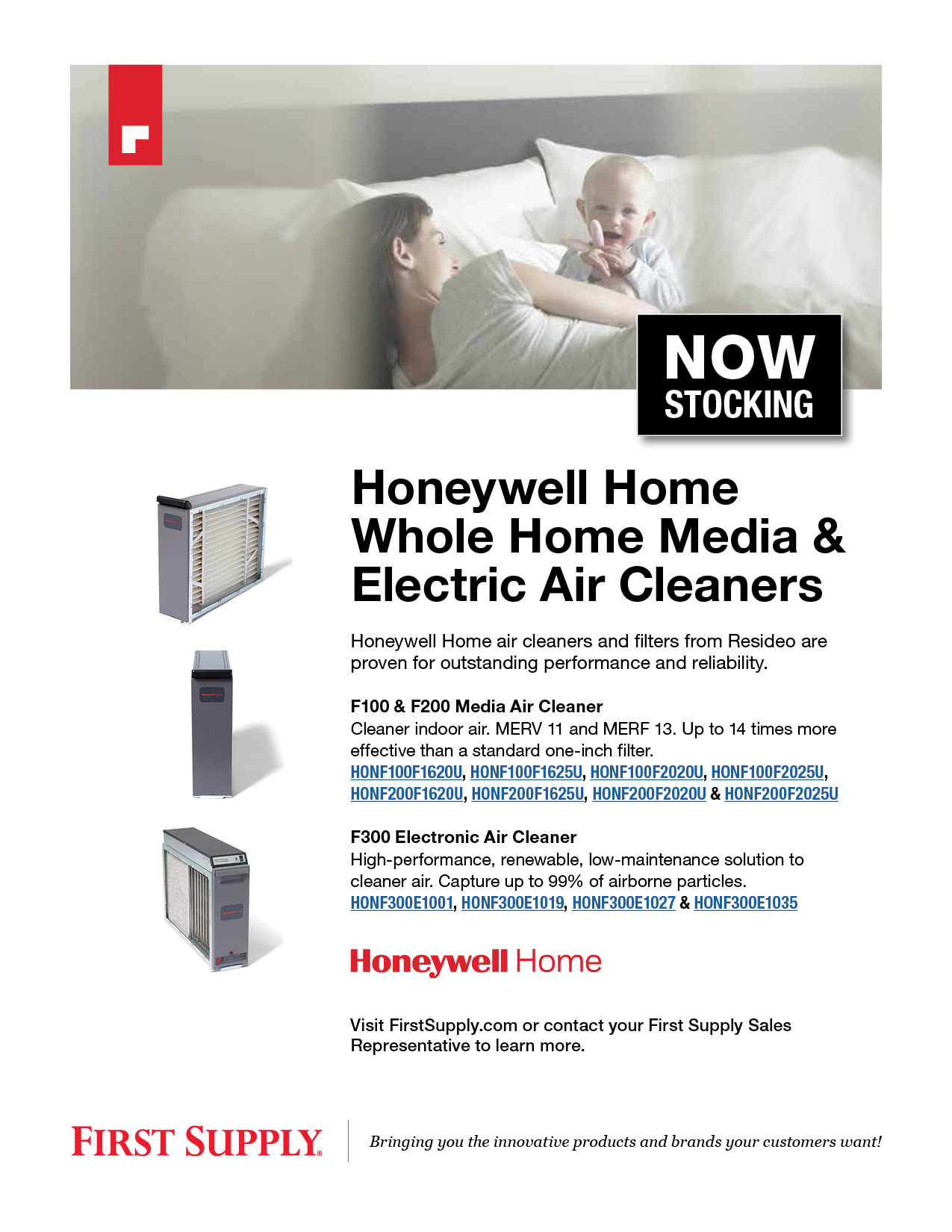 Honeywell Home Whole Home Media and Electric Air Cleaners