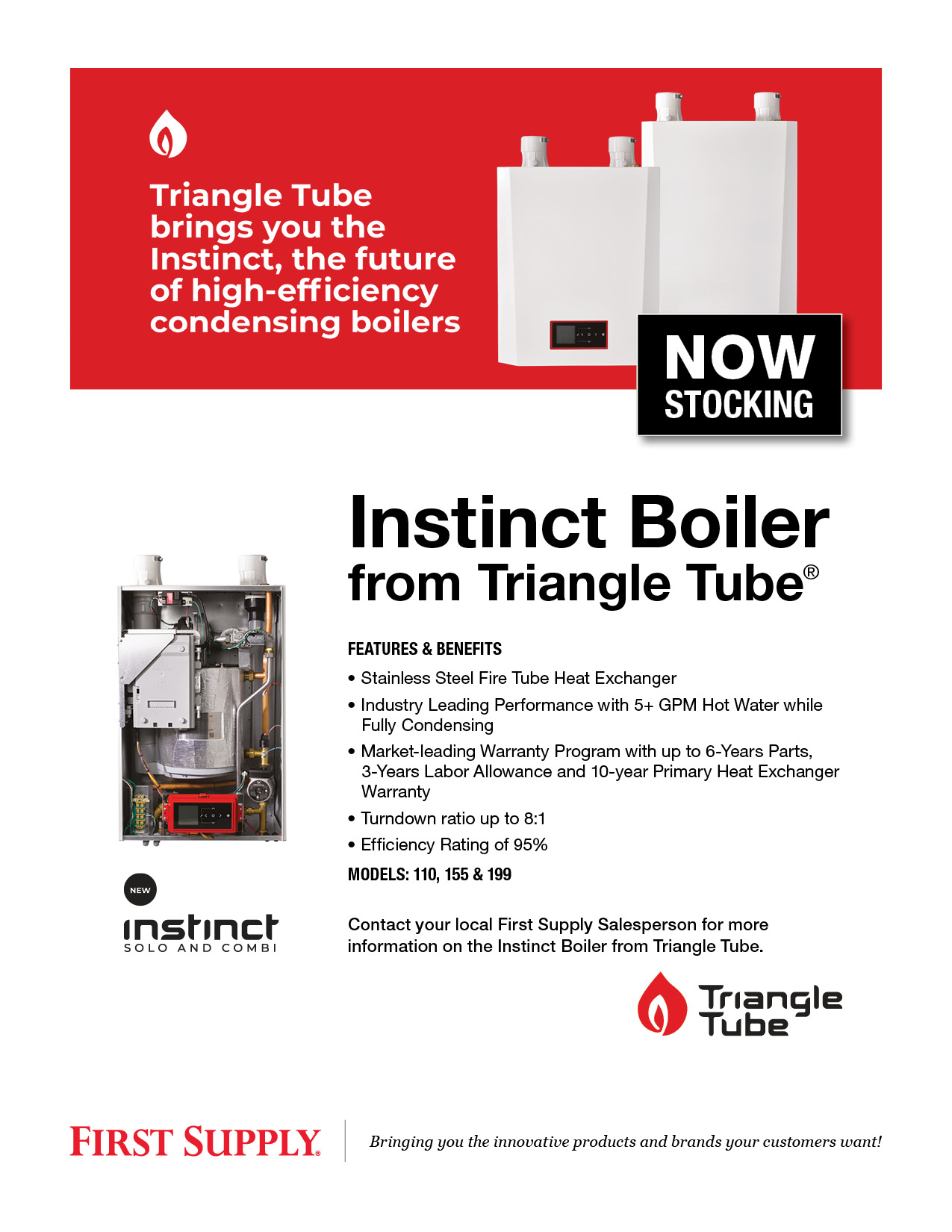 Instinct Boiler from Triangle Tube